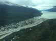Skagway from the air